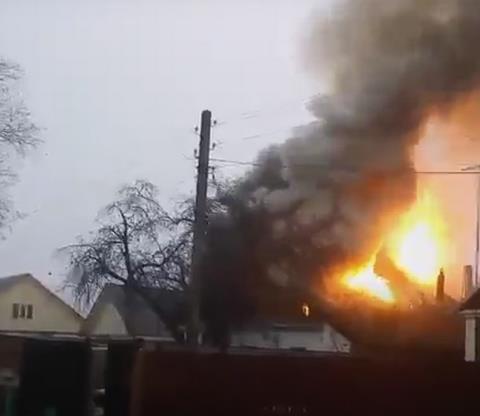 Напожаре вкасимовском селе Погост имеется пострадавший